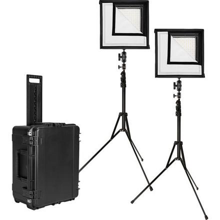 Westcott Flex Bi-Color LED Mat 2-Light Cine Studio Kit (1x1)