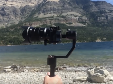 Rent: Sony  Alpha a6500 with Zhiyun Crane v2 3-Axis Stabilizer Kit