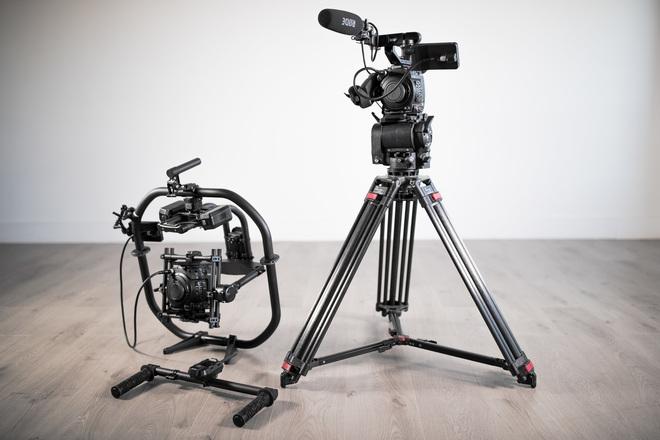 Two (2) Canon EOS C200's + O'Connor Tripod + MoVI Pro Gimbal