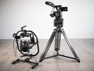 Rent: Two (2) Canon EOS C200's + O'Connor Tripod + MoVI Pro Gimbal