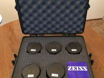 Contax Zeiss EF Mount Duclos Modded MMJ lens set