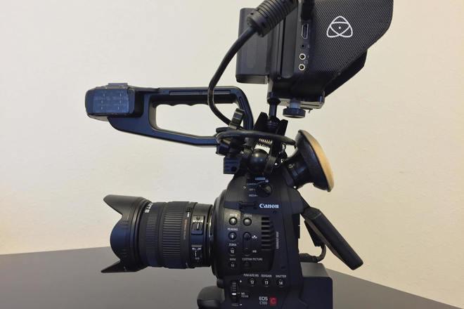 C100 Premium Run&Gun Package with Lens & Recorder