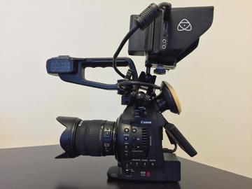 Rent: C100 Premium Run&Gun Package with Lens & Recorder