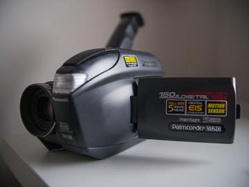 Handheld VHS Camcorder + Transfer!