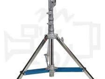 Rent:  American Grip Low Combo 2 Rise Light Stand w/ Rocky Leg