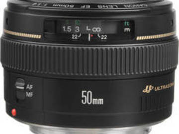 Rent: Canon 50mm f1.4
