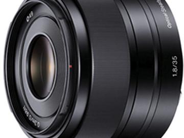 Rent: Sony 35mm f/1.8 OSS E-mount Prime Lens