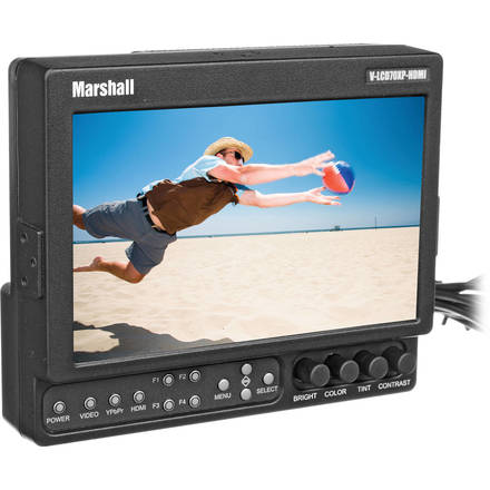 Marshall  V-LCD70XP-HDMI 7-in Field Monitor