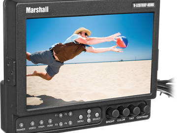 Rent: Marshall  V-LCD70XP-HDMI 7-in Field Monitor