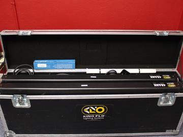 Rent: Kino Flo Gaffer 4' 4Bank, 2-Light Kit plus (2) light stands
