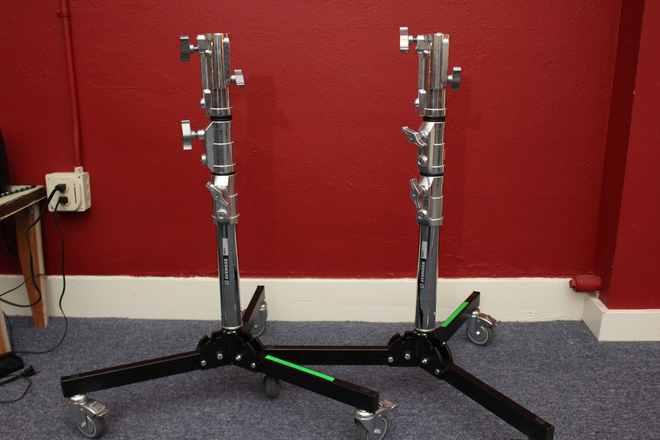 (2) Lowboy Roller Stands for Dana Dolly (Interior)