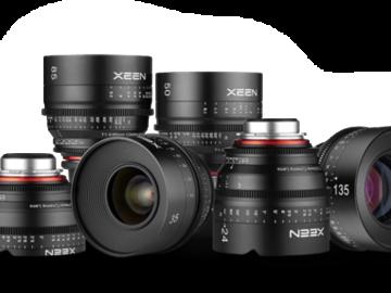 Xeen 5 lens PL kit
