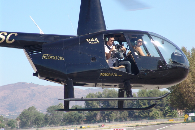 Robinson R44 Raven II Helicopter and Aerial Production Pilot