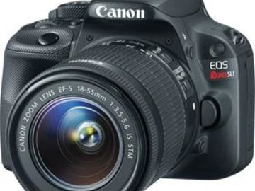Rent: Canon EOS Rebel SL1 Digital SLR with 18-55mm STM Lens