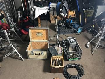 Cinemills 575W HMI Par w/ Electronic Ballast/Scrims/Lenses