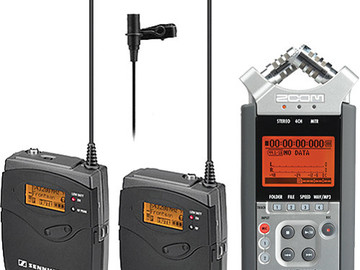 Sound Package - Sennheiser G3 Lav Kit w/ Zoom H4n