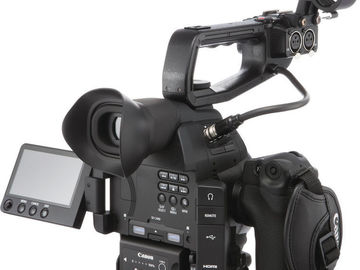 Rent: Two Canon C100 Mark II Cameras