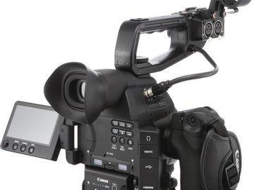 Two Canon C100 Mark II Cameras