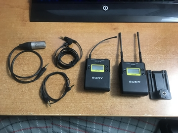 Rent: Sony UWP-D11 Wireless Lavalier Transmitter/Reciever System