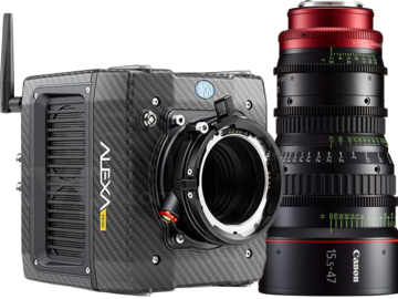 Rent: Alexa Mini Full Package With Movi M15