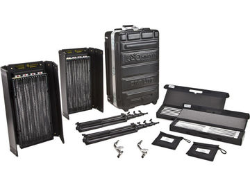 Rent: Kino Flo Diva 401 Universal 2- Light KIT W/ Flight Case