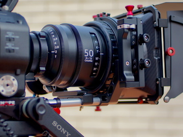 Rent: Full set Sony Cinealta 2nd Generation, 6-lens primes.