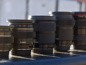Canon/Sigma Lens Kit: 16-35, 24,35, 50, 85 (w/ filters)