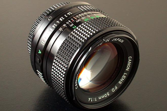 Canon FD 50mm 1.4 w/ Sony E-mount Adapter
