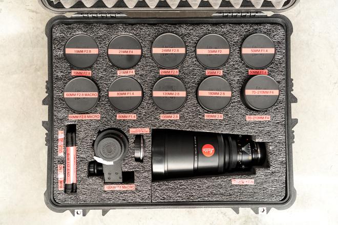 Leica R EPIC 12 Prime Lens SET | HOLLYWOOD