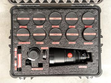 Leica R EPIC 12 Prime Lens SET   HOLLYWOOD