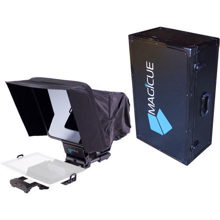 MagiCue Mobile Teleprompter Kit with Aluminum Hard Case
