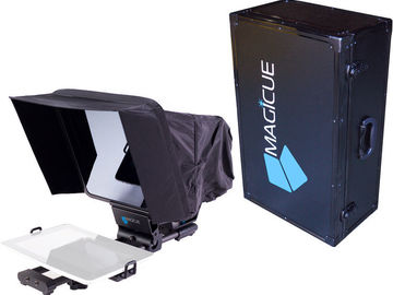 Rent: MagiCue Mobile Teleprompter Kit with Aluminum Hard Case