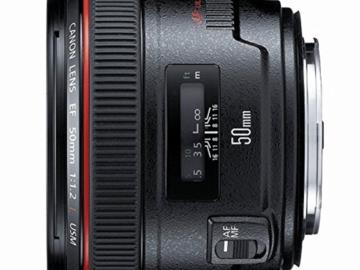 Rent: Canon EF 50mm f/1.2 L USM + Variable ND filter