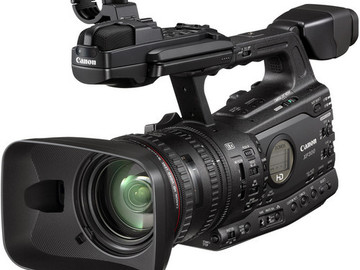 Rent: Canon XF300 with Wide Angle Lens