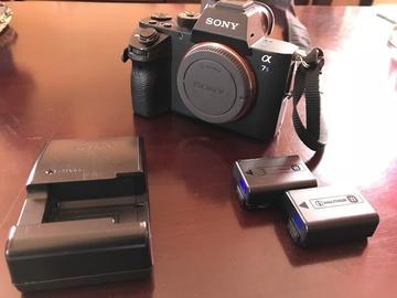 Rent: Sony Alpha a7S II Mirrorless Digital Camera - 3 Batteries