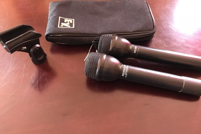 2 Wireless Microphones - Electro-Voice  RE50B, RE50N/D-B