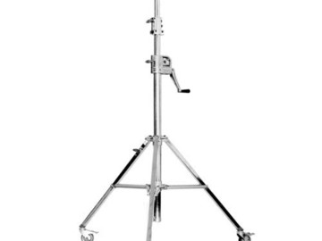 Rent: Matthews MiniVator Triple Stage Crank-Up Stand with wheels