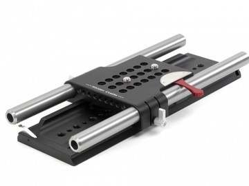 Rent: 19mm Studio Rig: Dovetail Plate, 19mm Baseplate