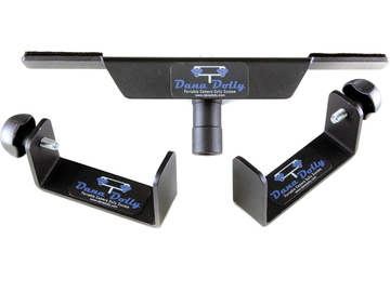 Rent: Dana Dolly Portable Dolly w/ aluminum track & low boy risers
