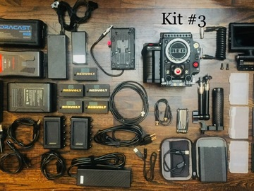Rent: RED Epic Dragon 6K kit #3 + Zeiss Primes