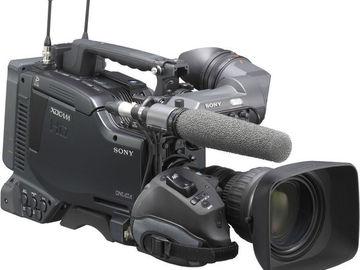 "Rent: Sony PDW-F800 XDCAM HD422 2/3"" 3CCD Camera"
