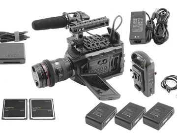 Rent: Blackmagic Ursa Mini 4.6K, Canon 24-105mm f/4L, (2) 256GB