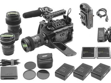 Rent: Ursa Mini 4.6K EF Sigma Art f/1.8 18-35mm, 50-100mm, 11-16mm