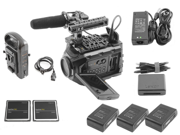 Rent: Blackmagic Ursa Mini 4.6K Canon EF (2) 256GB (3) Batteries
