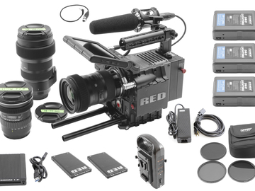 RED Scarlet MX 4K | Sigma Art 18-35 f/1.8, 50-100, 11-16