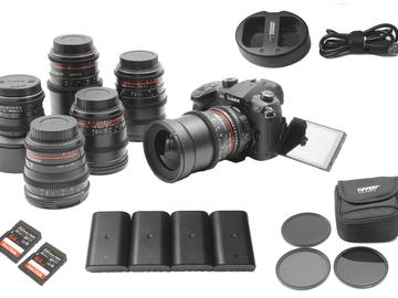 Panasonic Lumix GH5 V-Log | 6-Lens Rokinon Cine-DS Lens Set