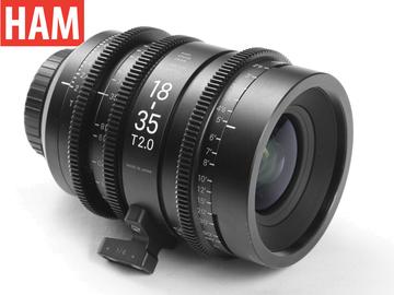 Rent: (Canon EF) Official Sigma 18-35mm T2 Cine Lens