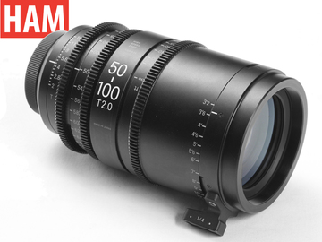 Rent: (Canon EF) Official Sigma 50-100mm T2 Cine Lens