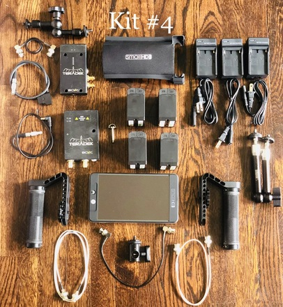 SmallHD 702 Bright kit #4 (Batteries, Cage and Teradek)