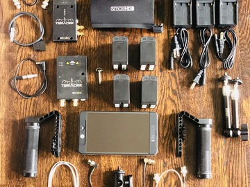 Rent: SmallHD 702 Bright kit #4 (Batteries, Cage and Teradek)